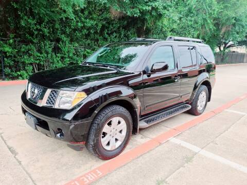 2005 Nissan Pathfinder for sale at DFW Autohaus in Dallas TX