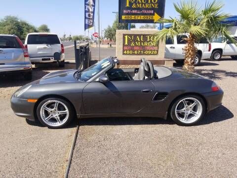 2004 Porsche Boxster for sale at 1ST AUTO & MARINE in Apache Junction AZ