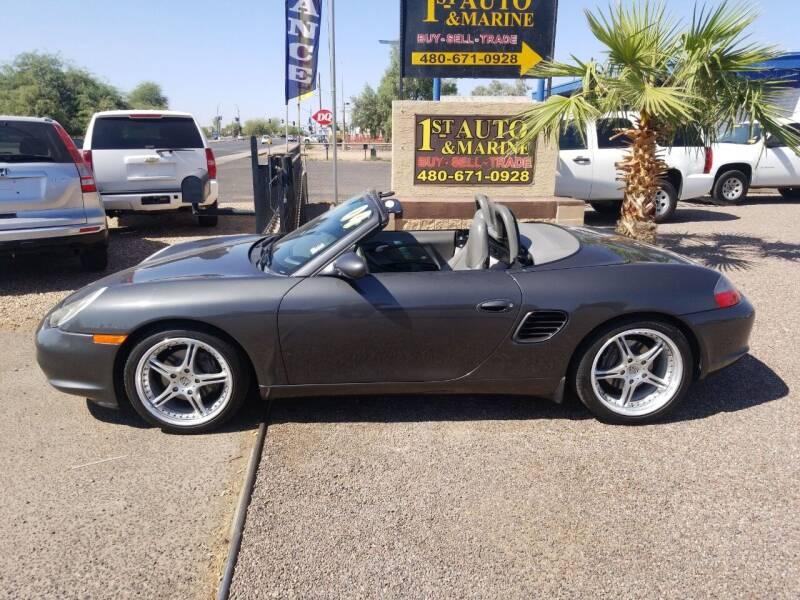 2004 Porsche Boxster for sale at 1ST AUTO & MARINE in Apache Junction AZ