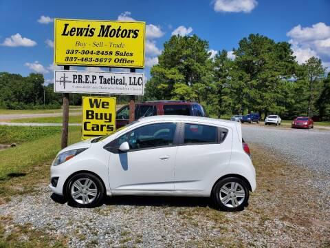 2013 Chevrolet Spark for sale at Lewis Motors LLC in Deridder LA