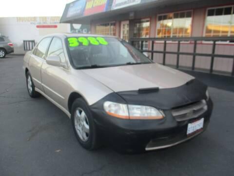 2000 Honda Accord for sale at Quick Auto Sales in Modesto CA