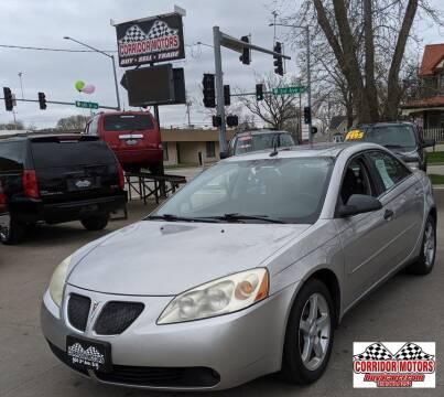 2008 Pontiac G6 for sale at Corridor Motors in Cedar Rapids IA
