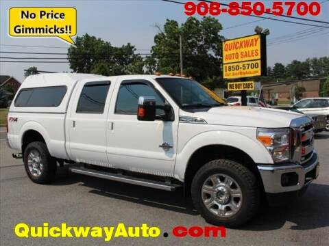 2015 Ford F-350 Super Duty for sale at Quickway Auto Sales in Hackettstown NJ