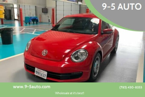 2012 Volkswagen Beetle for sale at 9-5 AUTO in Topeka KS