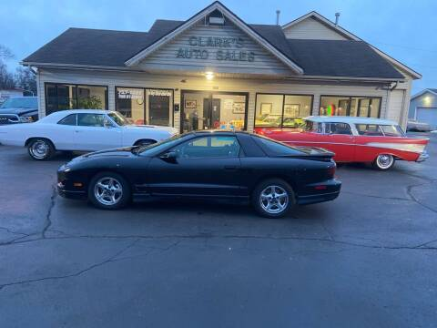 2002 Pontiac Firebird for sale at Clarks Auto Sales in Middletown OH