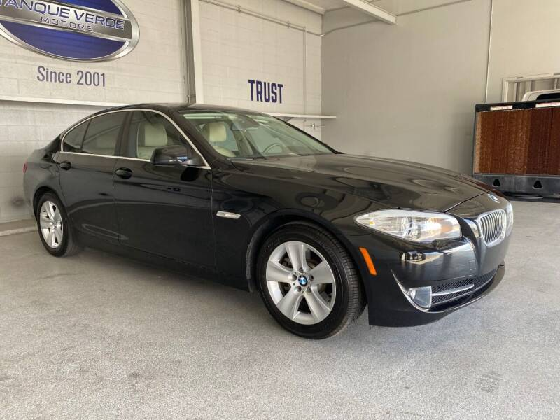 2011 BMW 5 Series for sale at TANQUE VERDE MOTORS in Tucson AZ