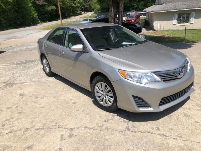 2014 Toyota Camry for sale at Moore's Motors in Durham NC