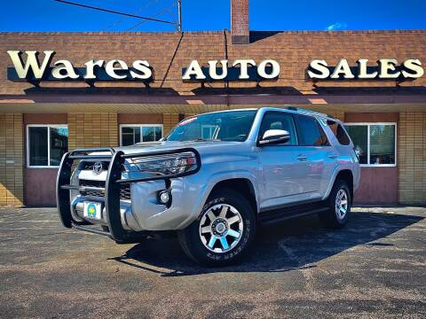 2016 Toyota 4Runner for sale at Wares Auto Sales INC in Traverse City MI
