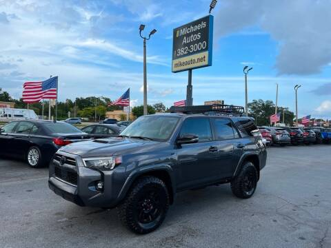 2021 Toyota 4Runner for sale at Michaels Autos in Orlando FL