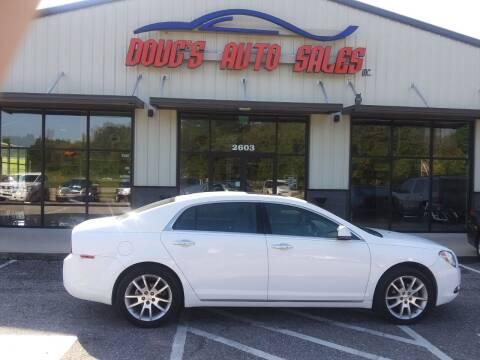 2010 Chevrolet Malibu for sale at DOUG'S AUTO SALES INC in Pleasant View TN