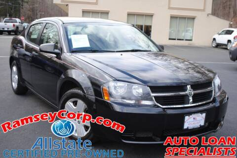 2008 Dodge Avenger for sale at Ramsey Corp. in West Milford NJ
