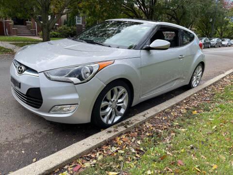 2012 Hyundai Veloster for sale at Apollo Motors INC in Chicago IL