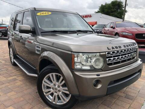 2010 Land Rover LR4 for sale at Cars of Tampa in Tampa FL