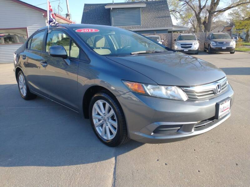 2012 Honda Civic for sale at Triangle Auto Sales 2 in Omaha NE