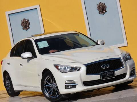 2017 Infiniti Q50 for sale at Paradise Motor Sports LLC in Lexington KY