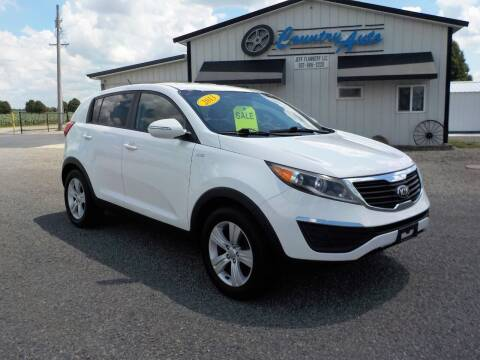 2013 Kia Sportage for sale at Country Auto in Huntsville OH