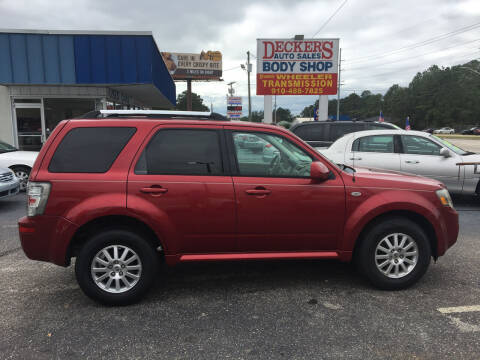 2009 Mercury Mariner for sale at Deckers Auto Sales Inc in Fayetteville NC