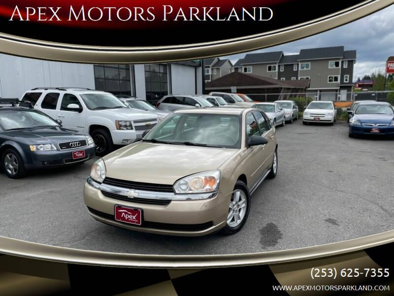 2005 Chevrolet Malibu Maxx for sale at Apex Motors Parkland in Tacoma WA