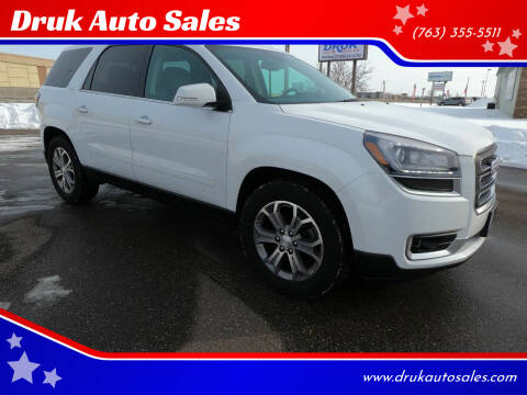 2016 GMC Acadia for sale at Druk Auto Sales in Ramsey MN