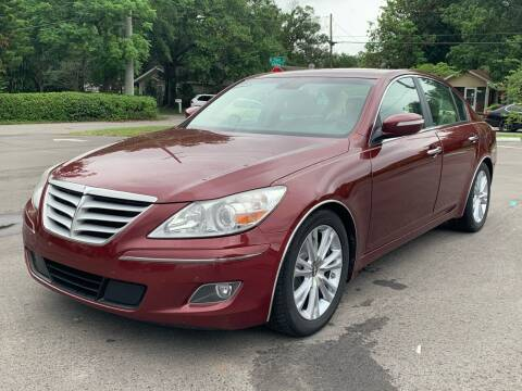 2010 Hyundai Genesis for sale at LUXURY AUTO MALL in Tampa FL