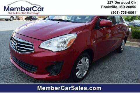 2017 Mitsubishi Mirage G4 for sale at MemberCar in Rockville MD