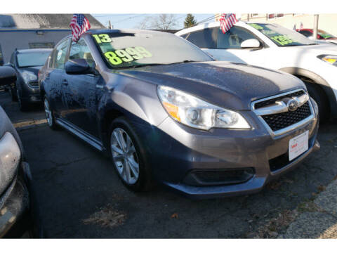 2013 Subaru Legacy for sale at M & R Auto Sales INC. in North Plainfield NJ