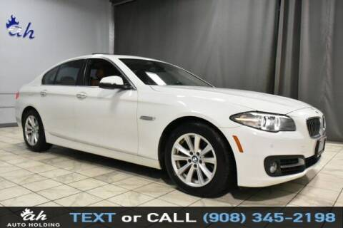 2015 BMW 5 Series for sale at AUTO HOLDING in Hillside NJ