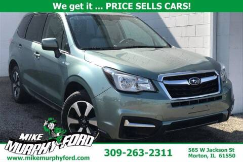2018 Subaru Forester for sale at Mike Murphy Ford in Morton IL