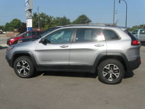 2014 Jeep Cherokee for sale at MCQUISTON MOTORS in Wyandotte MI