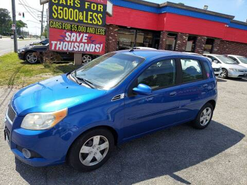 2010 Chevrolet Aveo for sale at HW Auto Wholesale in Norfolk VA