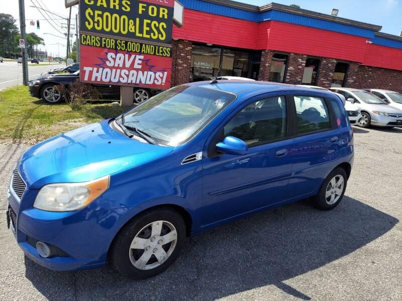 2010 Chevrolet Aveo for sale at HW Auto Wholesale in Norfolk VA