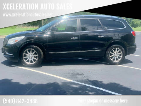 2016 Buick Enclave for sale at XCELERATION AUTO SALES in Chester VA