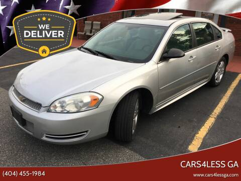 2012 Chevrolet Impala for sale at Cars4Less GA in Alpharetta GA