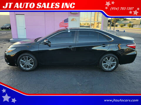 2017 Toyota Camry for sale at JT AUTO SALES INC in Oakland Park FL
