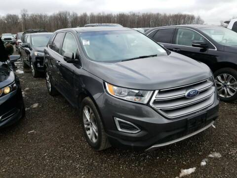 2016 Ford Edge for sale at Cj king of car loans/JJ's Best Auto Sales in Troy MI