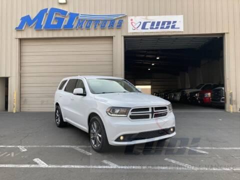 2017 Dodge Durango for sale at MGI Motors in Sacramento CA