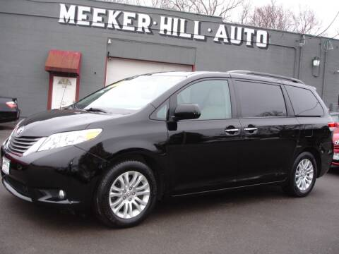 2013 Toyota Sienna for sale at Meeker Hill Auto Sales in Germantown WI