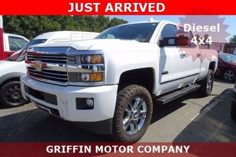 2016 Chevrolet Silverado 2500HD for sale at Griffin Buick GMC in Monroe NC