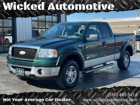 2007 Ford F-150 for sale at Wicked Automotive in Fort Wayne IN
