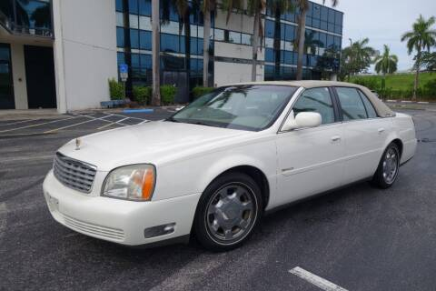 2002 Cadillac DeVille for sale at SR Motorsport in Pompano Beach FL