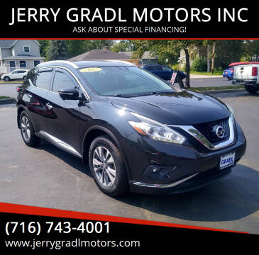 2015 Nissan Murano for sale at JERRY GRADL MOTORS INC in North Tonawanda NY