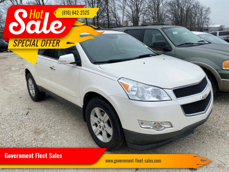 2011 Chevrolet Traverse for sale at Government Fleet Sales - Buy Here Pay Here in Kansas City MO