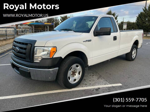 2009 Ford F-150 for sale at Royal Motors in Hyattsville MD