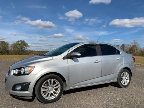 2013 Chevrolet Sonic for sale at LAMB MOTORS INC in Hamilton AL