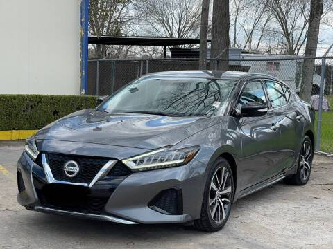 2019 Nissan Maxima for sale at USA Car Sales in Houston TX
