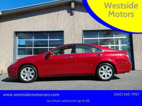 2009 Lexus ES 350 for sale at Westside Motors in Mount Vernon WA