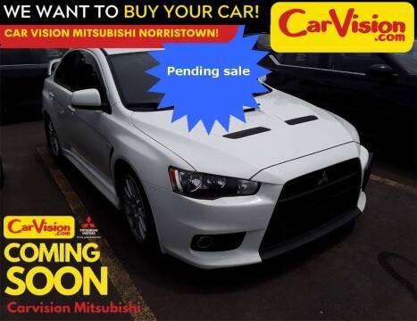 2014 Mitsubishi Lancer Evolution for sale at Car Vision Mitsubishi Norristown in Trooper PA