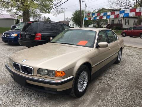 1999 BMW 7 Series for sale at Antique Motors in Plymouth IN