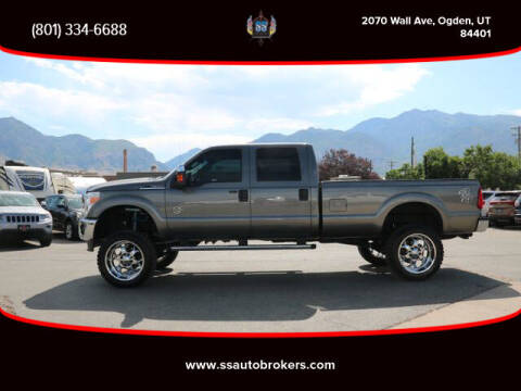 2011 Ford F-350 Super Duty for sale at S S Auto Brokers in Ogden UT