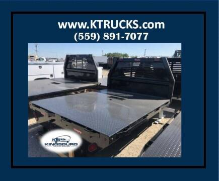 "Rugby Flatbed 8'6"" long 84"" wide 56"" CA for sale at Kingsburg Truck Center - Upfitting in Kingsburg CA"